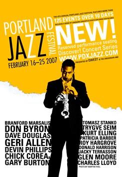 Portland Jazz Festival Poster